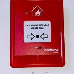 Acionador manual incendio
